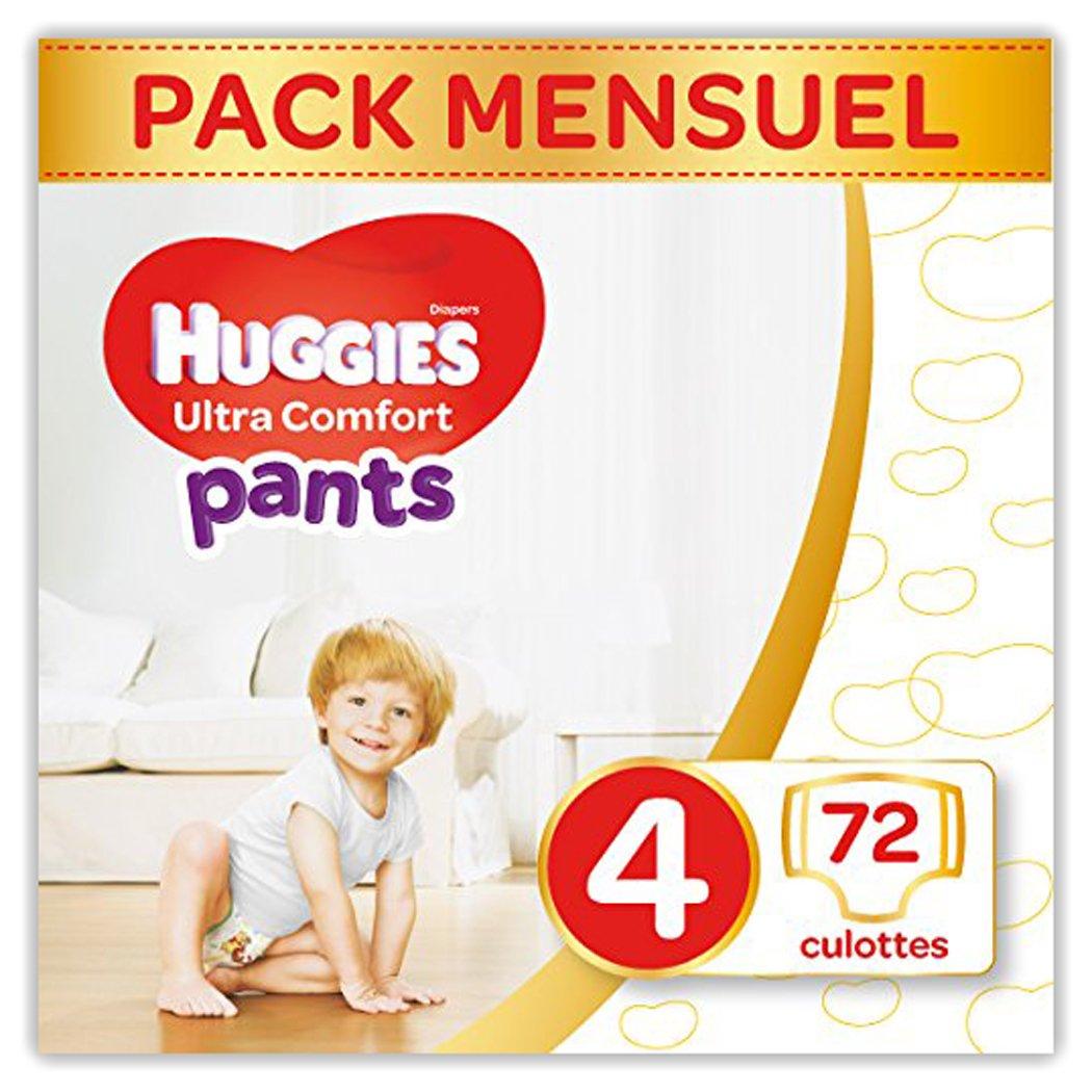 Huggies - Ultra Comfort - Culottes Bébé Unisexe - Taille 5 (12-17 kg) x68 Culottes 255999