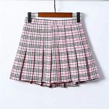 Faldón plisado, falda de faldón pequeña, falda plisada, falda ...