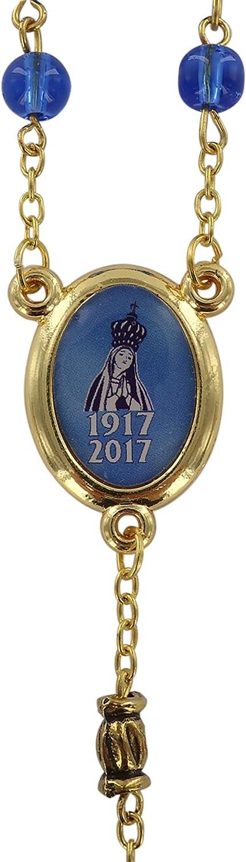 /Ø 6,5 mm Chapelet de la Cendrier de Fatma avec Grains en Verre color/é