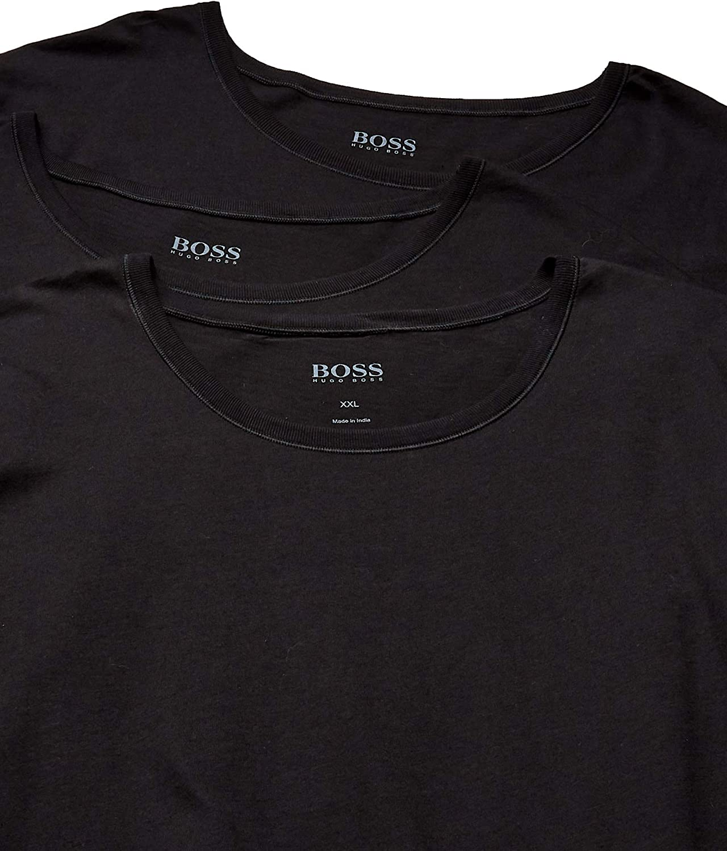 Hugo Boss BOSS Mens T-Shirt Rn 3p Us Co 10145963 01