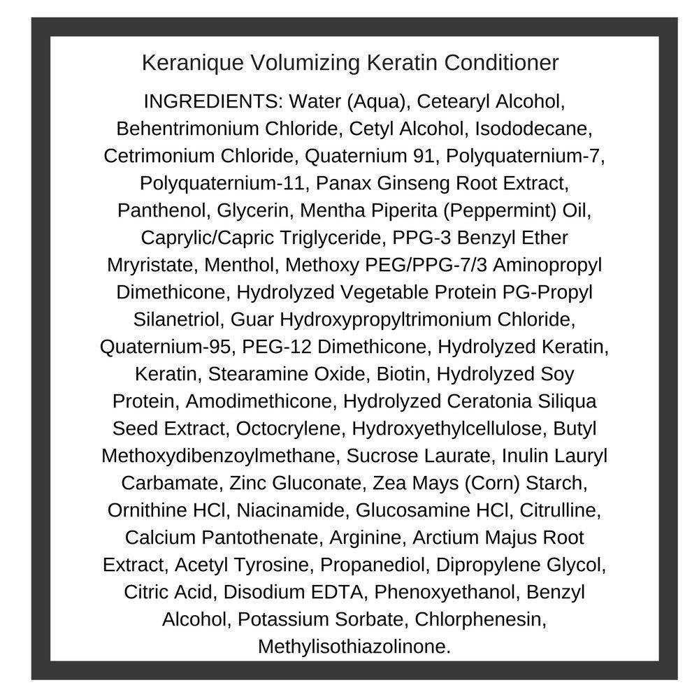 Keranique Volumizing Keratin Conditioner, 8 fl. oz. (2 Pack) by Keranique (Image #1)
