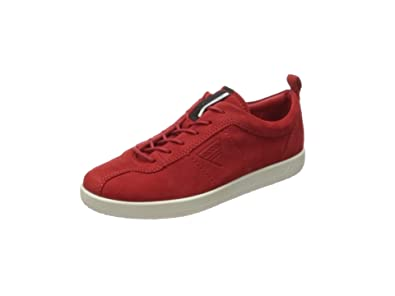 Womens Soft 1 Trainers, Red (Rose), 9 UK Ecco