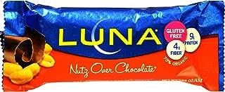product image for Cliff Bar Luna Bar, Og, Nutz Ovr Choc, 1.69-Ounce (Pack of 15)
