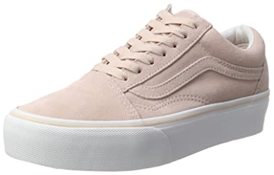 damen schuhe vans old skool rosa