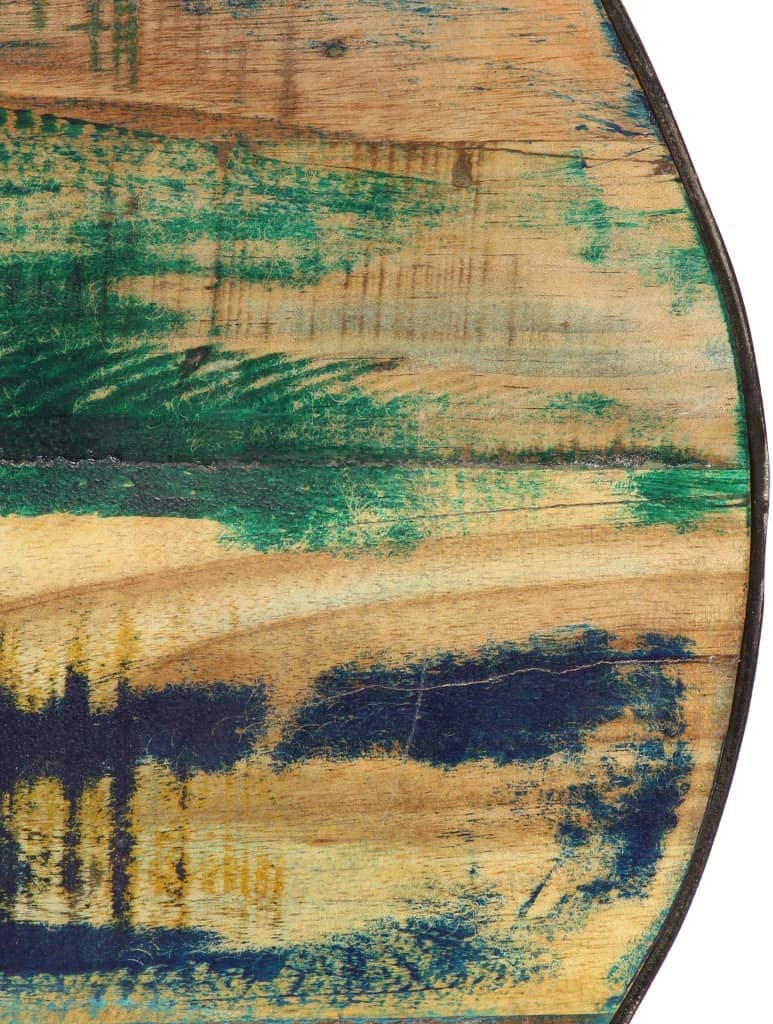 Couchtisch Recyceltes Balkontisch Sofatisch Kaffeetisch Wohnzimmertisch BeistelltiscMassivholz 110/×60/×35 cm Festnight