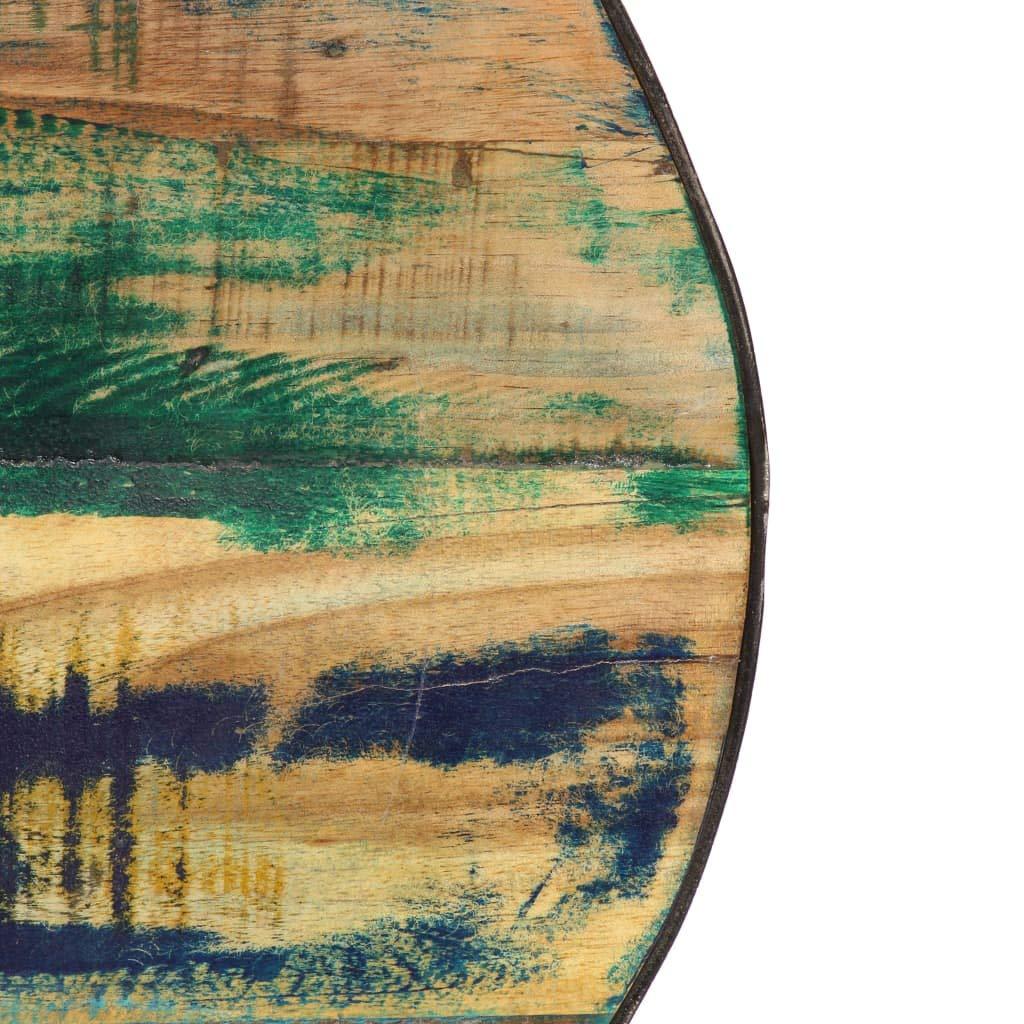 Mesa de Apoyo para el Sof/á de Madera Maciza Reciclada 110x60x35 cm Mesa de Sal/ón Festnight Mesa de Centro Mesa Auxiliar
