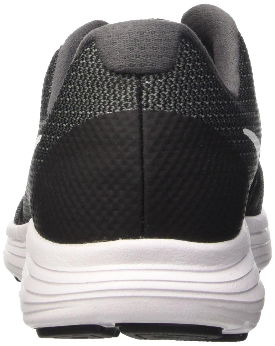 Nike Boys' Revolution 3 (GS) Running Shoe Dark Grey/White/Black/Pure Platinum 3.5 M US Big Kid by Nike (Image #2)