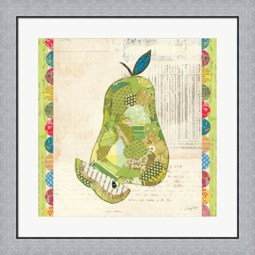 Amazon.com: Fruit Collage III - Pear - by Courtney Prahl Canvas Art ...
