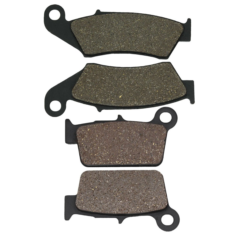 Cyleto Front and Rear Brake Pads for RM-Z 250 RMZ 250 2004 2005 2006 2007 2008 2009 2010 2011 2012 2013 2014 2015 2016