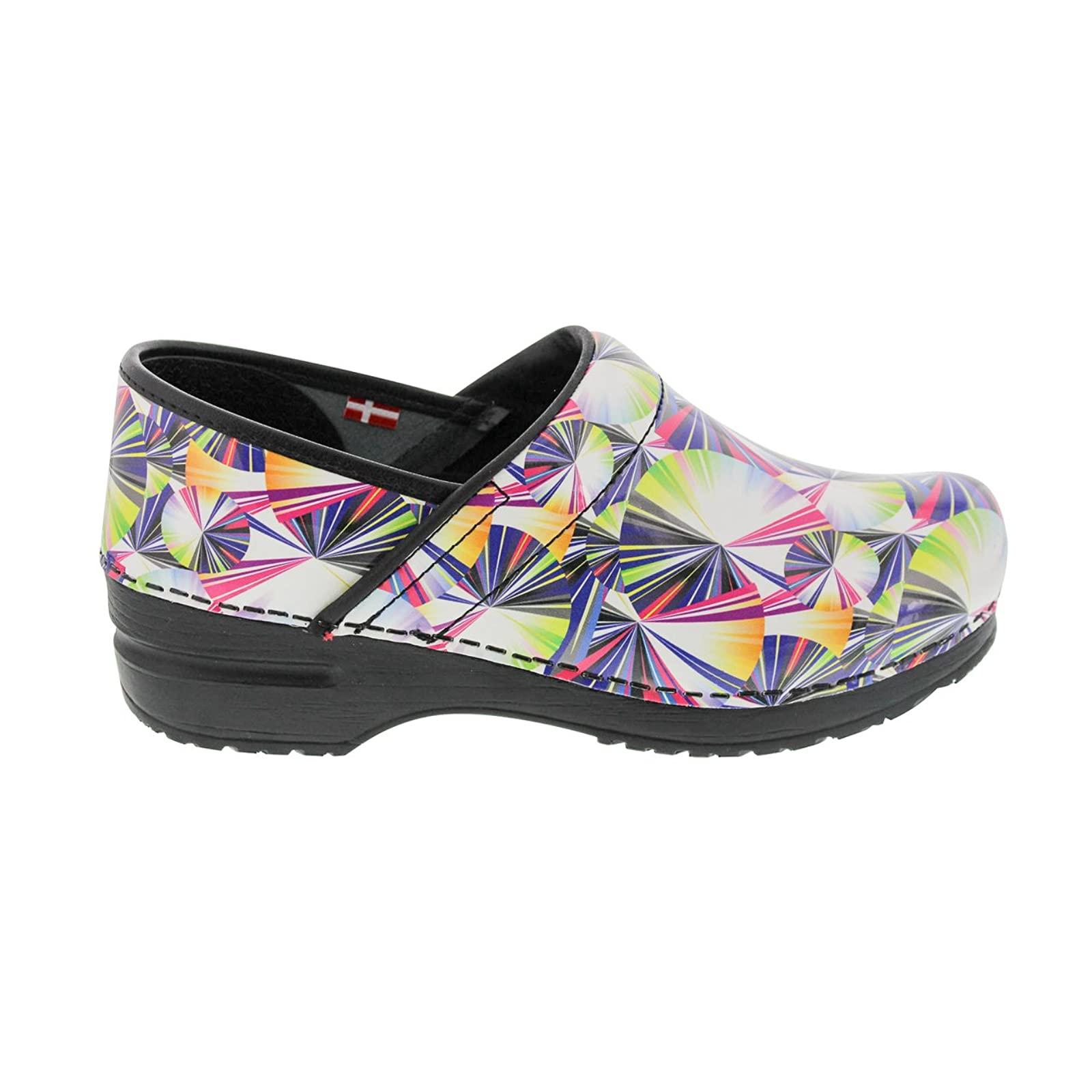 Sanita Women's Original Pro. Geo Clog 459156 Multi - 2