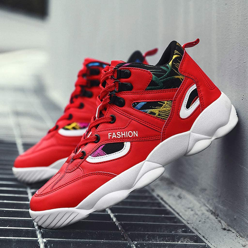 Nebwe Unisex Shoes Couple Fashion Sneakers High 2019 Shoes Mixed Colors Wear Resistant Running Summer