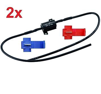 LP B547-2 - Pack de 2 resistencias de carga - Para LED T10, 5 W, W5W, C5W, ...