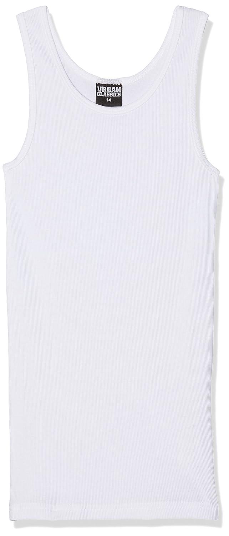 Urban Kids Tanktop, Canottiera Bambino, Weiß (White 220), 164 cm (Taglia del Produttore: 14) UK010
