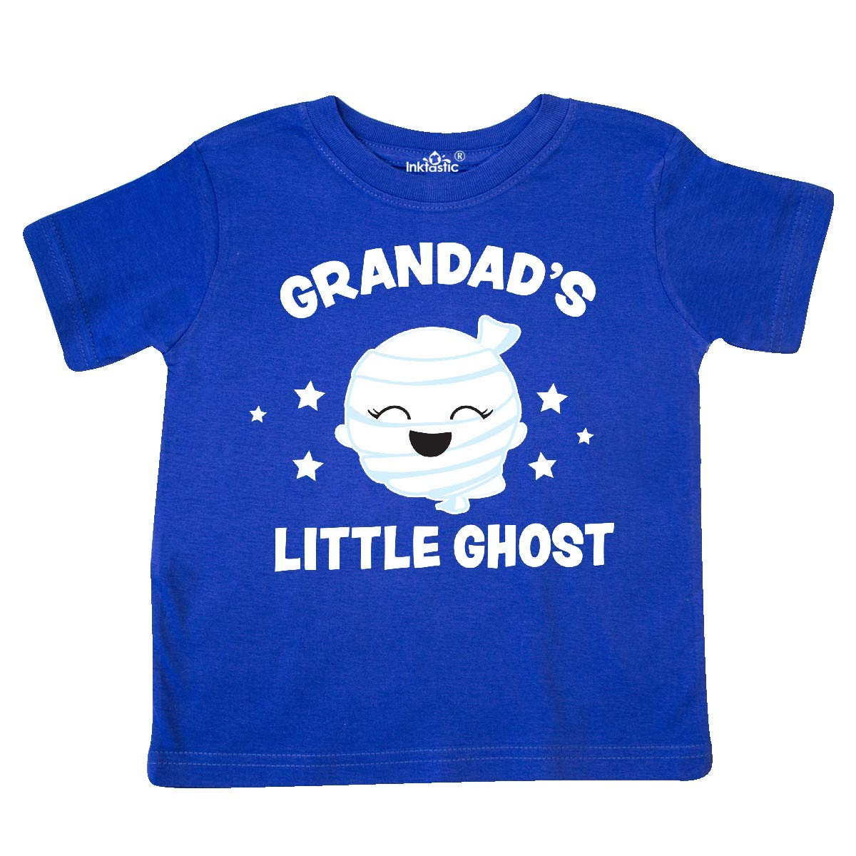 inktastic Cute Grandads Little Ghost with Stars Toddler T-Shirt