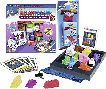 Ravensburger 76303 Rush Hour Junior - Juego de mesa sobre Rush Hour 2 (a partir de 5 años): Amazon.es: Juguetes y juegos