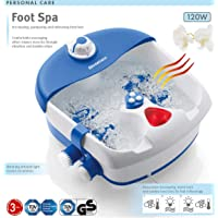 Bigger Size 2 Motor 4 Massage Rollers Pedicure Foot SPA Relief Tired Feet Bath