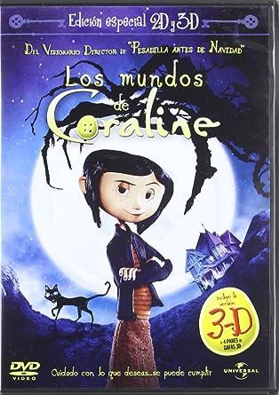 Amazon Com Mundos De Coraline Edicion Especial Import Movie European Format Zone 2 2009 Dakota Fanning Teri Movies Tv