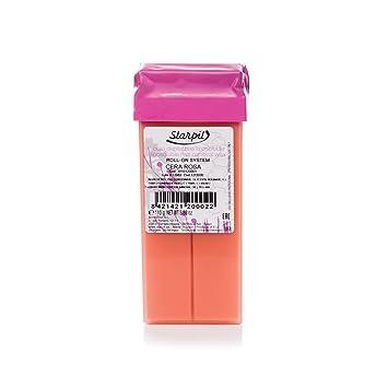Amazon.com: starpil – Cera rosa Roll On cera cartuchos (3.7 ...
