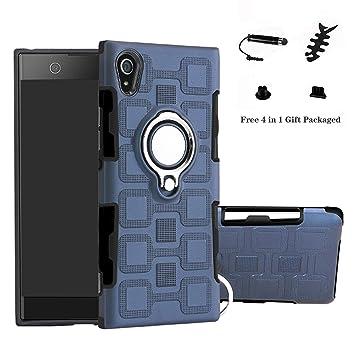 LFDZ Sony Xperia XA1 Anillo Soporte Funda 360 Grados Giratorio ...