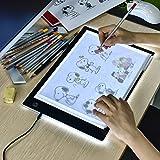 LED Light Box Pad A4 L4S Ultra Thin 5mm 17.6 Inch