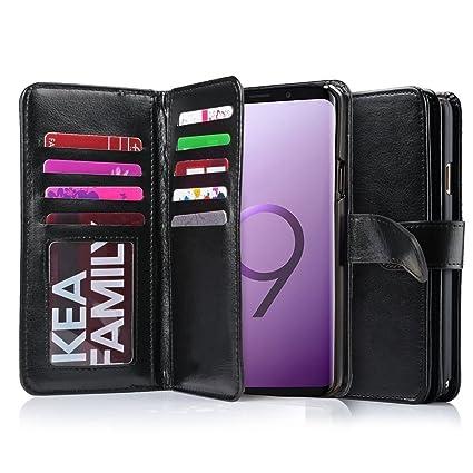 Amazon.com: Galaxy S9 Plus funda, S9 Plus funda portafolios ...
