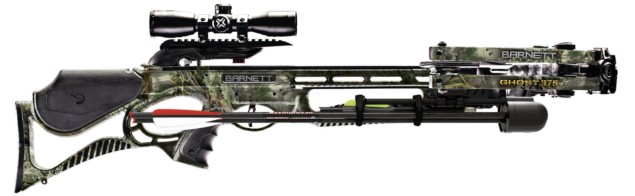 Barnett Ghost 375 Crossbow, Realtree Max 1 Camo by Barnett