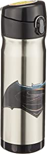 Thermos 16 Ounce Stainless Steel Commuter Bottle, Batman V Superman