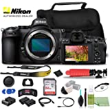 Nikon Z 5 Mirrorless Digital Camera (Body Only) USA Model (1649) + EN-EL15 Battery + SanDisk 64GB Card + Case + 12 Inch…
