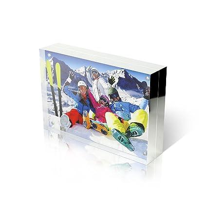 Amazon.com - Premium Shoppe 5X7 Double Sided Picture Frame ...