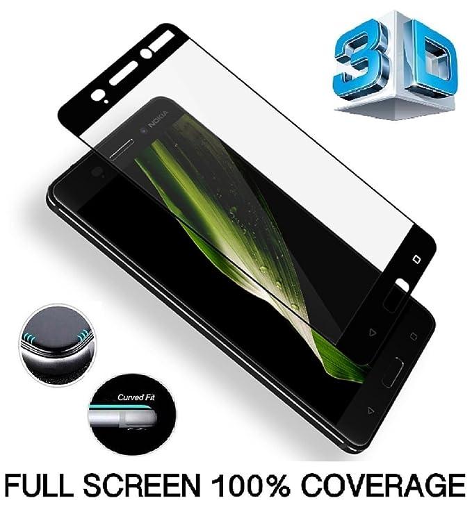 2 opinioni per Nokia 8pellicola protettiva, vetro temperato Nokia 8, dn-alive [compatibile con