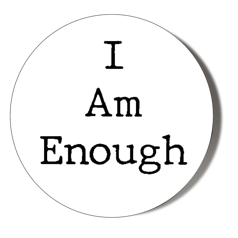 Gift Insanity Imán para Nevera con Texto en inglés I Am Enough, 38 ...