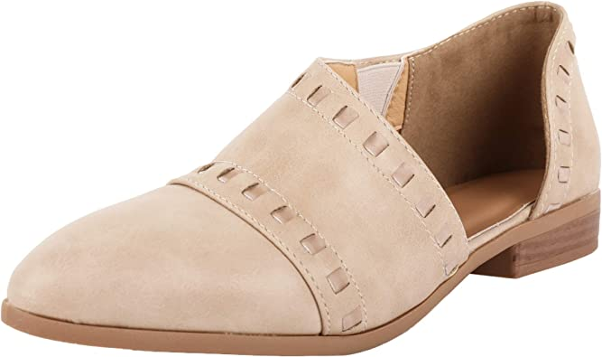 FISACE Womens Casual Slip-On Loafer