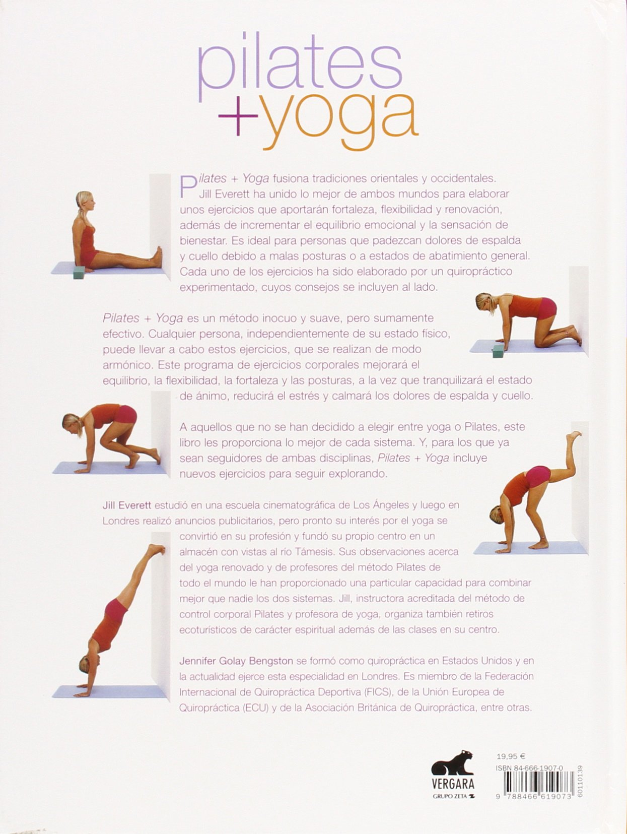 Pilates + Yoga (Spanish Edition): Jill Everett, Rafael ...
