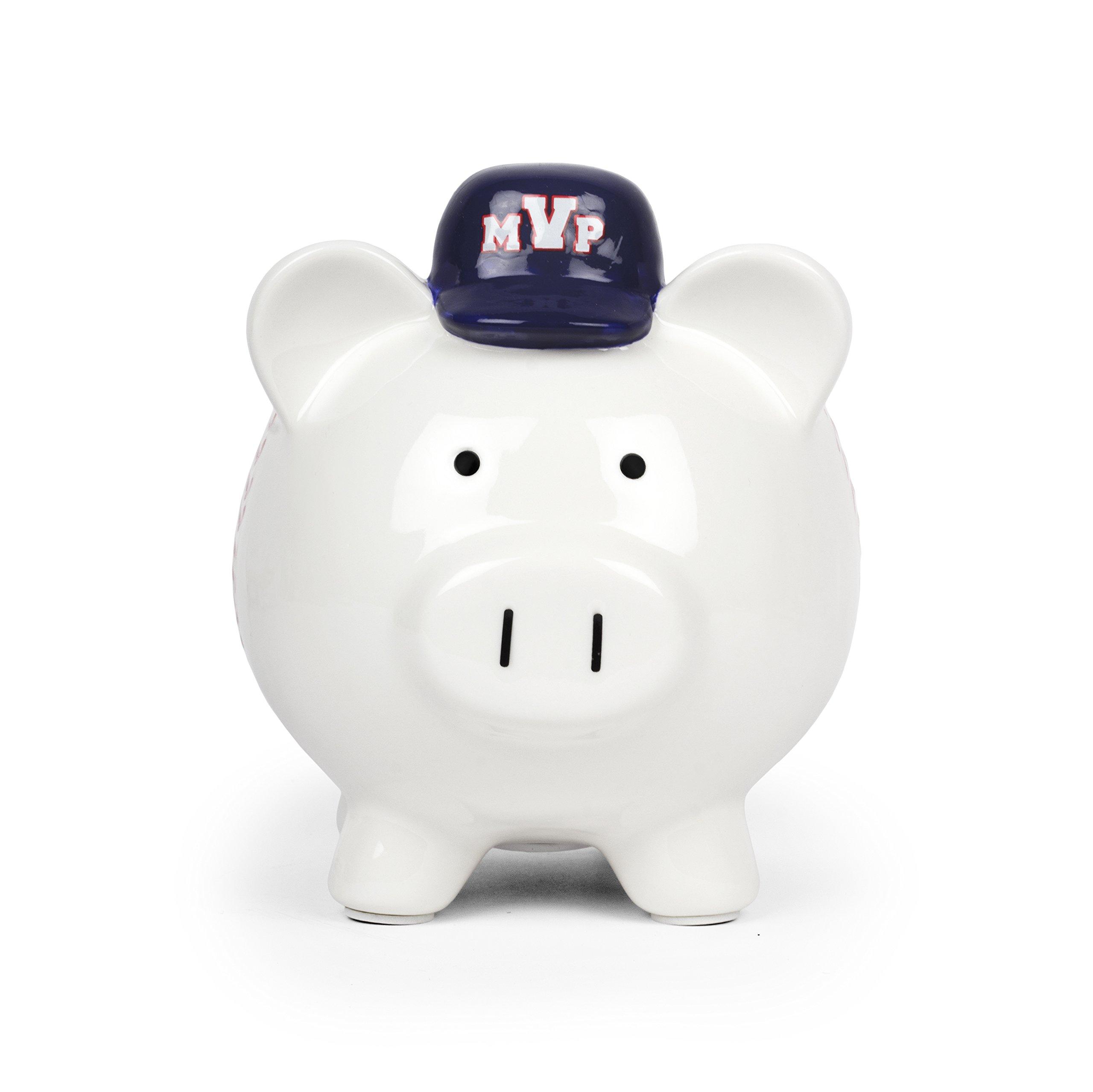 MVP Baseball Porcelain Piggy Bank