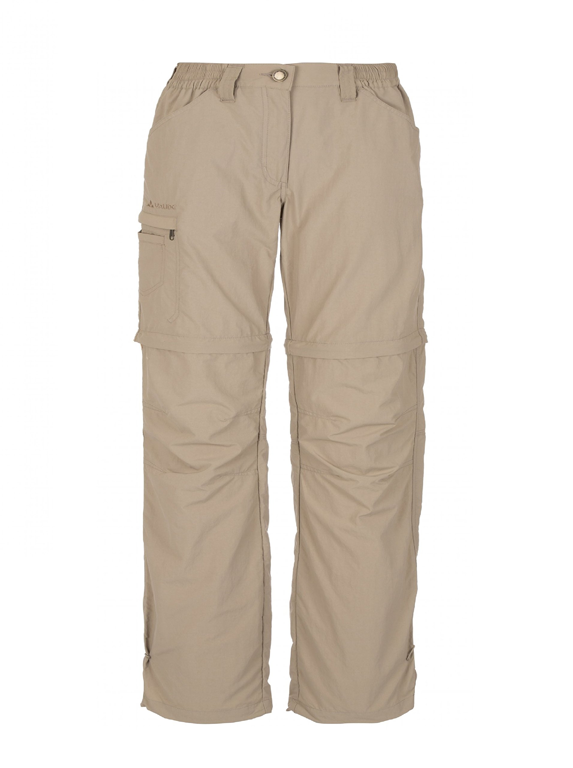 VAUDE Women's Farley ZO Pants IV – Women's Hiking Pants – Women's Convertible Hiking Pants for Easy Care and Staying Cool – Zip-off Pants