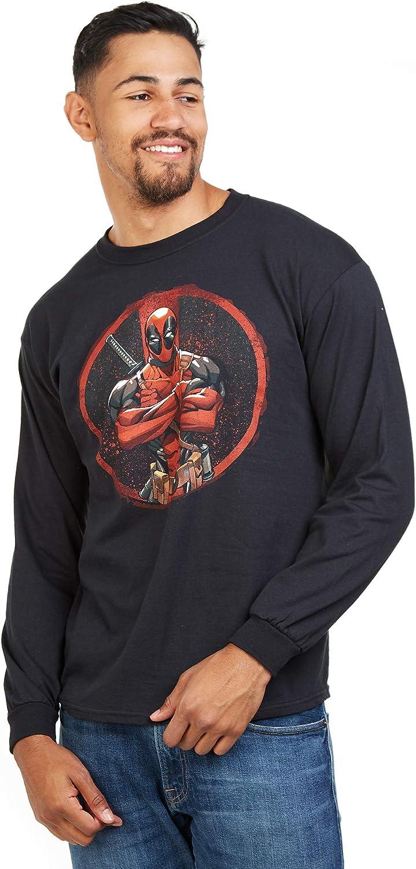 Marvel Deadpool T-Shirt Uomo