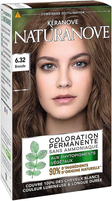 Kéranove 21036402 naturanove Coloración Permanente En Los phytopigments vegetales (Nuance bronde 6.32