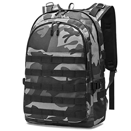 84449dfdc5f Amazon.com: CamGo Tactical Laptop Backpack Military PUBG Level 3 Backpacks  College School Bag for Camping Trekking Hunting Survival Rucksack (Black):  ...