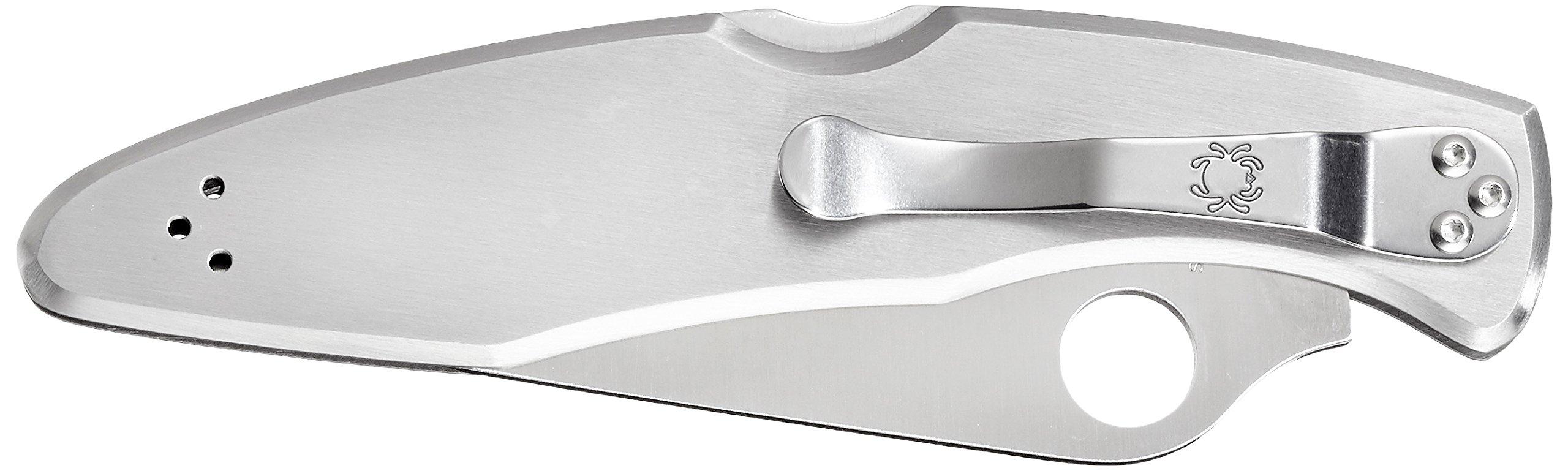 Spyderco Police Model SS PlainEdge Folding Knife C07P