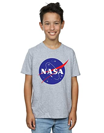 Nasa Boys Classic Insignia Logo T-Shirt  Amazon.co.uk  Clothing b2cae4d3a7