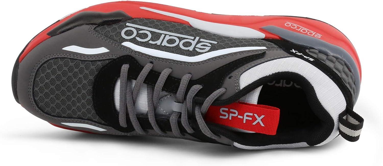 Sparco Sneaker SP-FX Hombre Color: Gris Talla: 41: Amazon.es: Zapatos y complementos