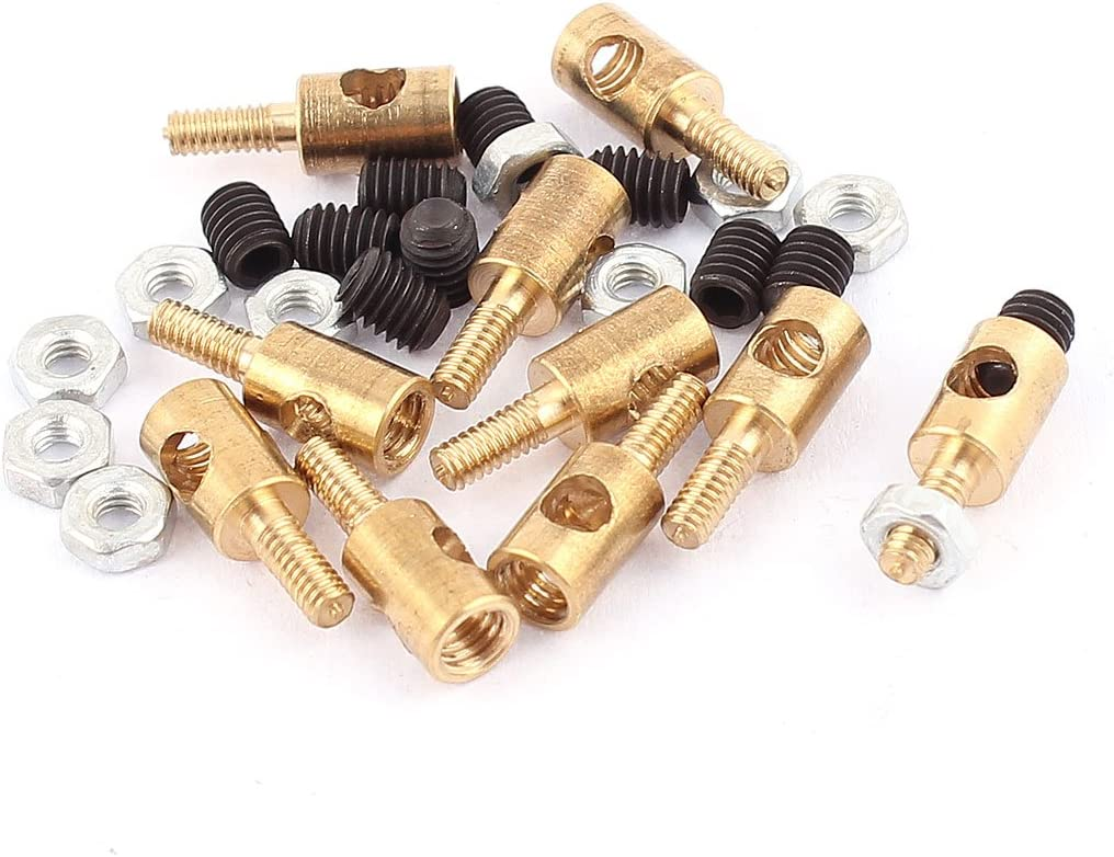 20 Servo Connectors Push Rod  Linkage Stoppers Ships from USA!