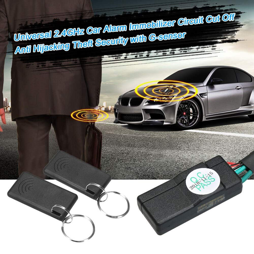 Jonathan-Shop - Universal Car Engine Immobilizer Security Alarm System Anti-Theft Anti-stealing Alarm System Car Immobilizer