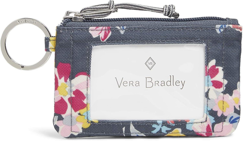 Vera Bradley Women's Lighten Up Zip Id Case Wallet