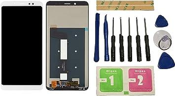 Flügel para Xiaomi Redmi Note 5 / Note 5 Pro MEG7S MEC7S MEE7S Pantalla LCD Pantalla Blanco Táctil digitalizador Asamblea Pantalla (sin Marco) de Recambio & Herramientas: Amazon.es: Electrónica