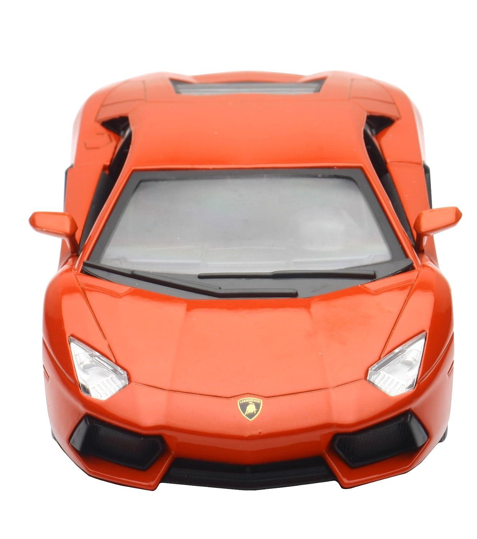 Buy New Ray 1 24 Lp 700 4 Lamborghini Aventador Orange Online At