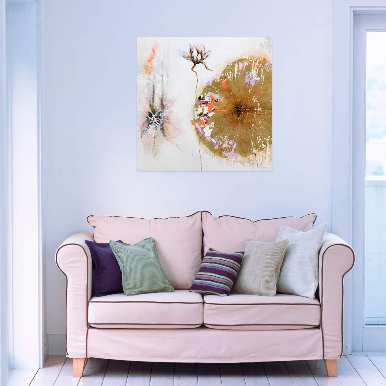 Kunstloft® Cuadro en acrílico Ballet of A Blossom 80x80cm ...