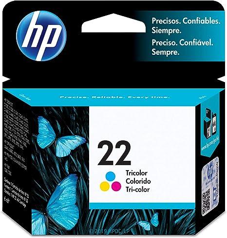 Amazon.com: HP 22- Cartucho de tinta tricolor original ...