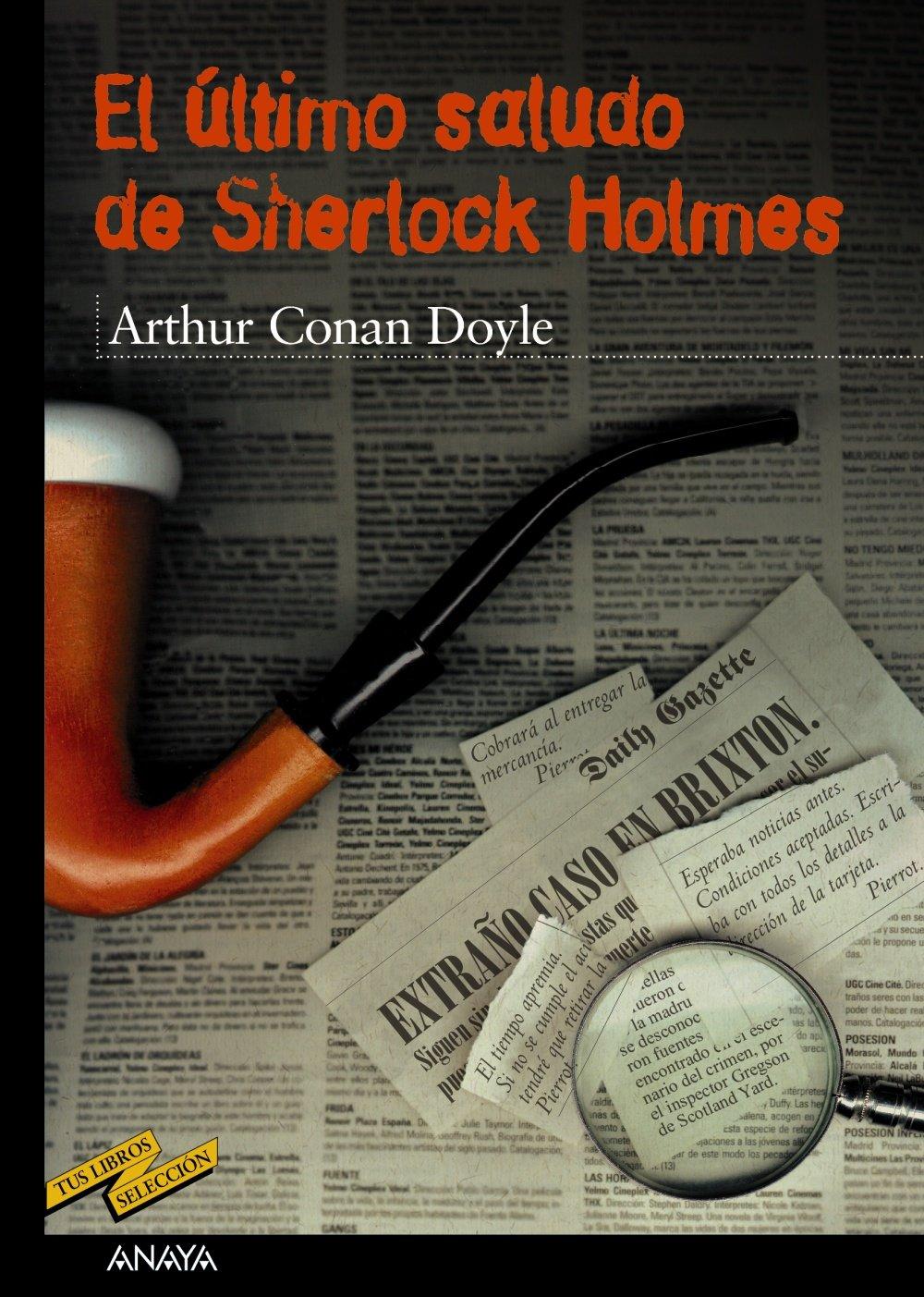 El último saludo de Sherlock Holmes CLÁSICOS - Tus Libros ...