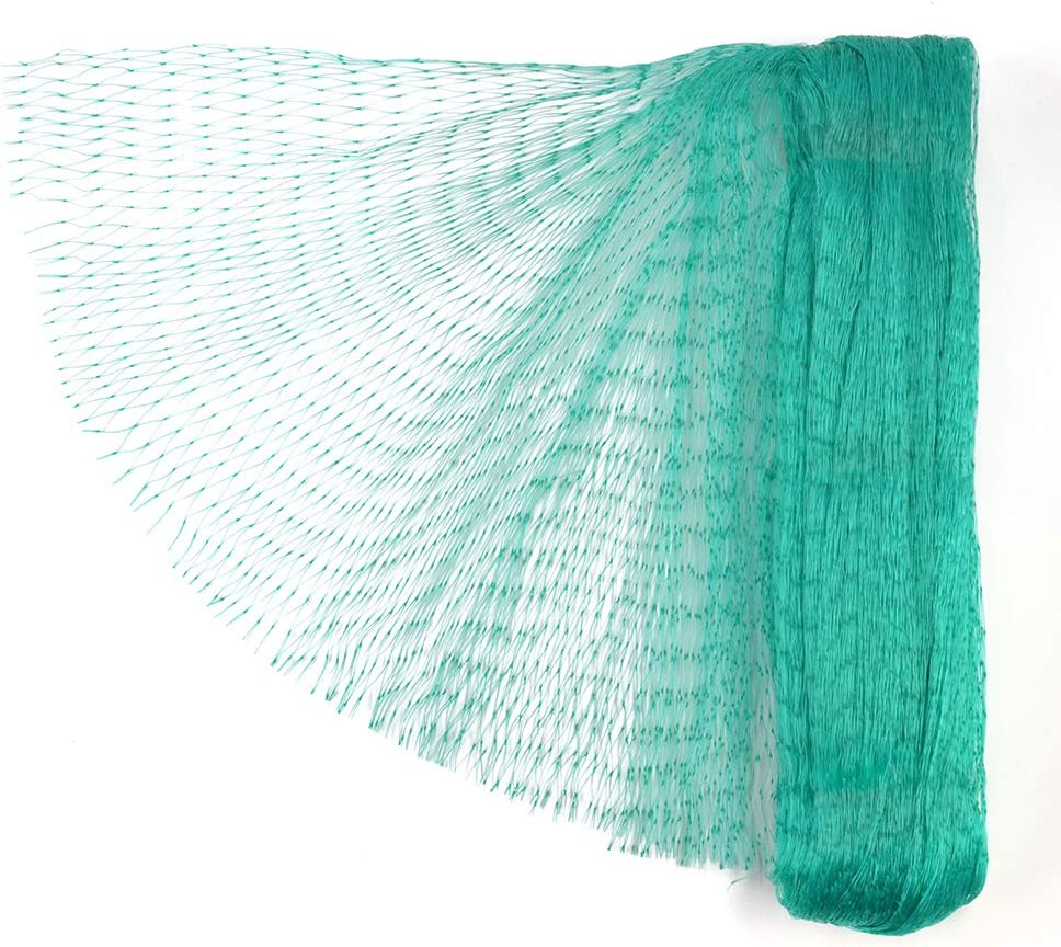 Dobmit 33Ft x 13Ft Bird Netting for Garden Protect Plants and Fruit from Bird Animals Netting Nylon Woven Garden Netting